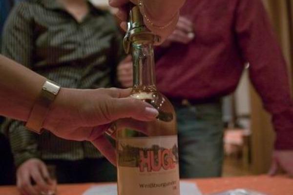 První olešnický košt vína