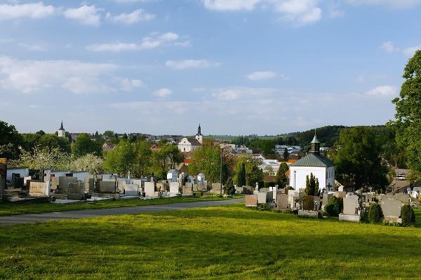 Olešnice - katolický hřbitov