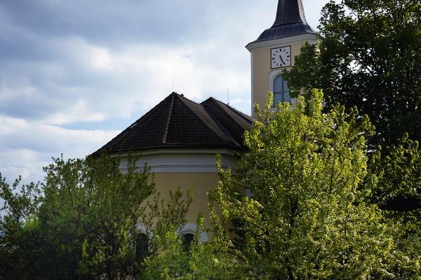 Olešnice - evangelický kostel