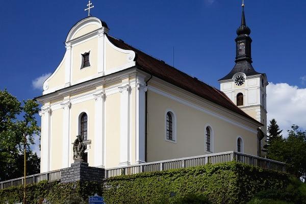 Olešnice - kostel sv. Vavřince na náměstí