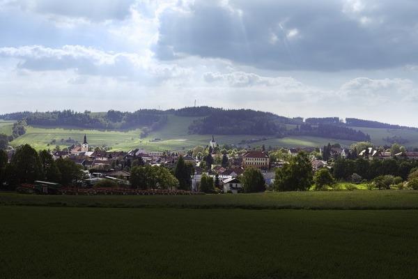 Olešnice - panorama