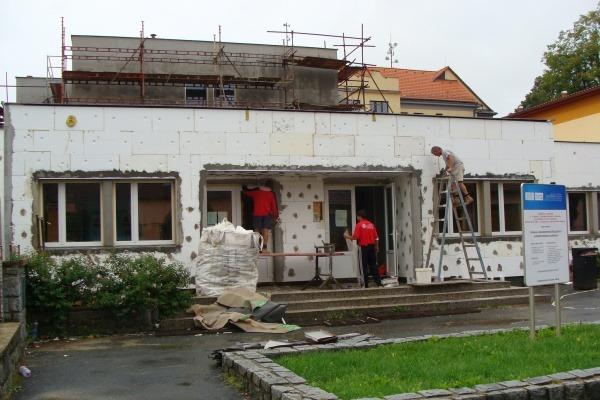 2009 Zateplení pláště přístavby školy (2)